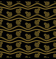Seamless pattern with ropes anchors chain and vector image