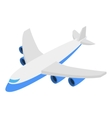 Plane isometric 3d icon vector image