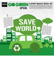 Save world concept EPS10 vector image