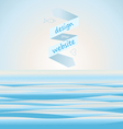Sea background for web site vector image