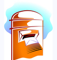 post box vector image vector image