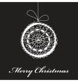 abstract christmas fantasy card vector image