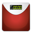 A weighing device vector image