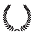 Laurel Wreath icon1 resize vector image