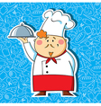 Restaurant chef vector image