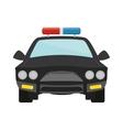 police icon image vector image