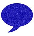message balloon icon grunge watermark vector image