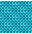 Seamless blue river fish scales vector image