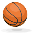 Cartoon basketball ips10 vector image