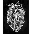 Heart of stone vector image
