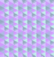 Abstract geometric background in purple tone vector image