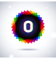 Spectrum logo icon Letter O vector image