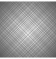 Monochrome seamless pattern with cross lines vector image