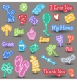 Everyday and home icons vector image