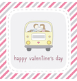 Happy valentine s day card11 vector image