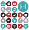 icons for technology and device vector image