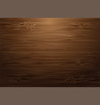 brown wood wall with light background vector image