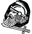 Mars God of war vector image