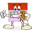 House renovation vector image