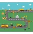 Road Construction Concept vector image