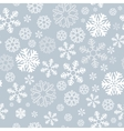 snowflake seamless background vector image
