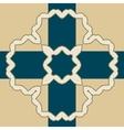 Oriental islamic pattern vector image