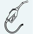 Gasoline fuel vector image