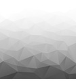 Abstract Gradient Gray Geometric Background vector image