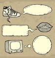 Talking things vector image