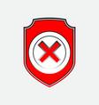Check mark logo vector image