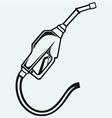 Gasoline fuel vector image