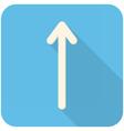 Up Arrow icon vector image vector image