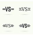Versus sign vecctor vector image