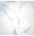 network background abstract polygon vector image vector image