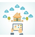 Smart house automation vector image