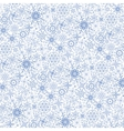 Snowflakes patternWinter laceChristmasNew year vector image