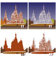 st basils cathedral moscow vector image