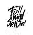 Full nonsense Cola pen calligraphy font vector image