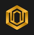 Cube Logo templates abstract logotype symbol vector image