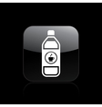Coffee bottle single icon vector image