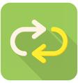 Repeat icon vector image