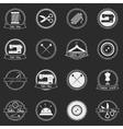 Set of vintage tailor shop badges vector image