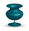 ceramic vase isolated vector image