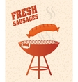 Bbq and butchery theme vector image