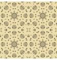 seamless geometric fabric vector image vector image