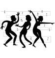 Beatnik party vector image