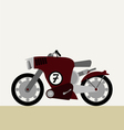 Motorcycle concept vector image