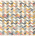 Fashion chevron pattern in yellow and teal colors vector image vector image