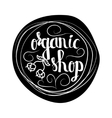Creative typographic poster for the online shops vector image