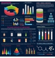 Pharmaceutical infographic for presentation design vector image